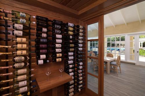 Tortuga Bay Lounge Wine Cellar