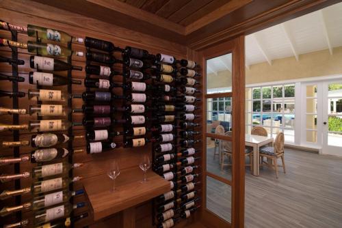 Tortuga Bay Lounge Wine Cellar